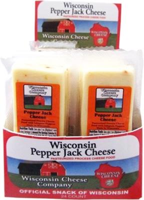 Processed Pepper Jack 2 Oz 4 24 Ct Caddies